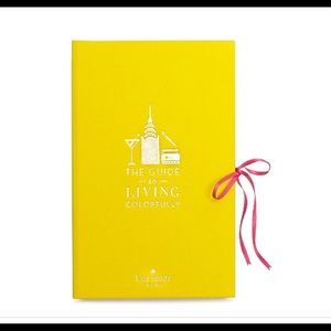 NWOT Kate Spade: Guide to Living Colorfully Books